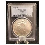 2006-W Silver Eagle PCGS MS69