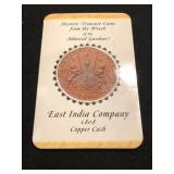1808 Ship Wreck Coin Copper Cash