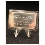 Engelhard 1oz. .999 Fine Silver Bar