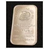 The Price of Liberty 1oz. .999 Fine Silver Bar