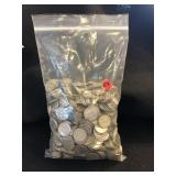 Lot of 1000 Silver Dimes Unsearched