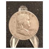 1949-S Franklin Silver Half Dollar