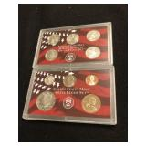 2002 U.S. Mint Silver Proof Set