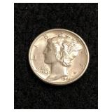 1944 Uncirculated Mercury Dime