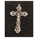 .925 Silver Crucifix Pendant