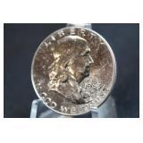 1963 Proof Franklin Silver Half Dollar
