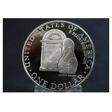 1992-W U.S. Commemorative Silver Dollar Proof