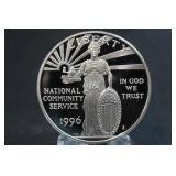 1996-S Commemorative U.S. Silver Dollar