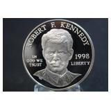 1998-S Robert F. Kennedy Silver Dollar