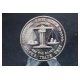 Vintage 1oz .999 Pure Silver Coin