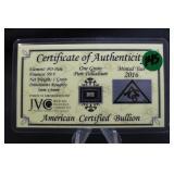 1 Grain Fractional .999 Pure Platinum Bar