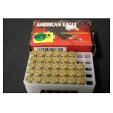 1 Partial Box of .22LR Ammunition 33 Rounds