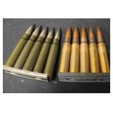 10 Rounds of 8mm Mauser Ammo with Clips