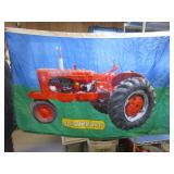 Allis Chalmers tractor flag