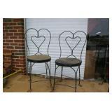 Pair of Ice Cream Chairs