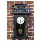 Junghans Rgulator Clock Circa 1870-1900