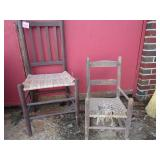 Barn find chairs; (2) pick up only with in 2 days