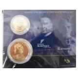 Presidential & First Spouse Medal Set; McKinley