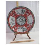 Oriental Charger & Stand - Porcelain