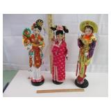 Oriental  Dolls