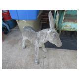 Cement Donkey - Missing Ear