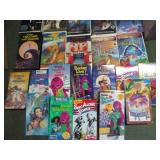 Barney, Wizard of Oz & More VHS