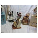 Christmas Music Boxes & Bird Houses
