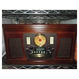 Nice Record Player Wooden Music Center CD, &