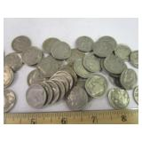 40 Buffalo Nickels with dates