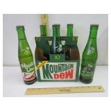 6 10 oz Mountain Dew bottles; pick up only