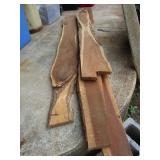 Wood slabs; pick up only