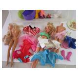 Vintage Barbie clothes & Barbie Parts