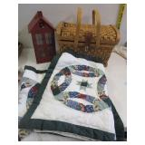 Picnic Basket, Red House, pillow cases