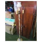 Antique Metal living room lamp