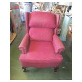 Burgundy Chair - very comfortable