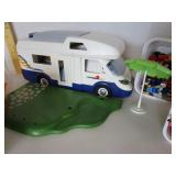 Playskool camper, furniture, men, animals, & more