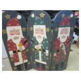 Wooden Christmas screen