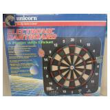 Unicorn electronic dart board; no darts