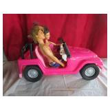 Barbie Jeep with Ken & Barbie