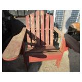 2 Nice adirondack chairs; pick up only