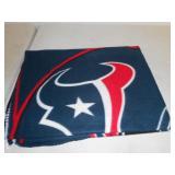 New Houston TEXANS fleece blanket