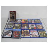 16 count Blu-ray / HD movies
