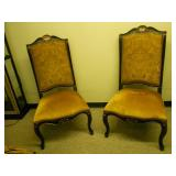 Gorgeous ! Pair of accent chairs