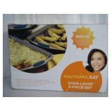Brand new Rachel Ray 5-pc bakeware set