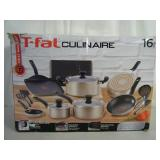 Brand new 16-pc T-Fal Culinaire cookware set