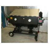 Very nice Cajun Fryer double commercial deep fryer