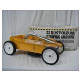 Brand new Rust-Oleum commercial striping machine