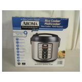 New Aroma 4-quart rice cooker / multi-cooker