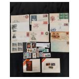 1st. Day ish. Stamps/world stamps/Mounty Set lot