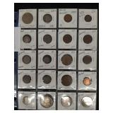 20 Foreign coins South + Central America